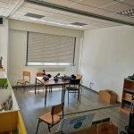 Cerramiento de modelo de radio en colegio de O Burgo